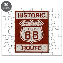 Chambliss Route 66 Puzzle