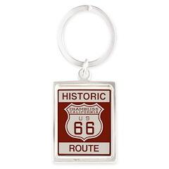 Chambliss Route 66 Portrait Keychain
