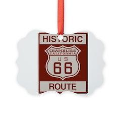 Chambliss Route 66 Ornament