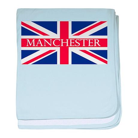 Manchester1 baby blanket