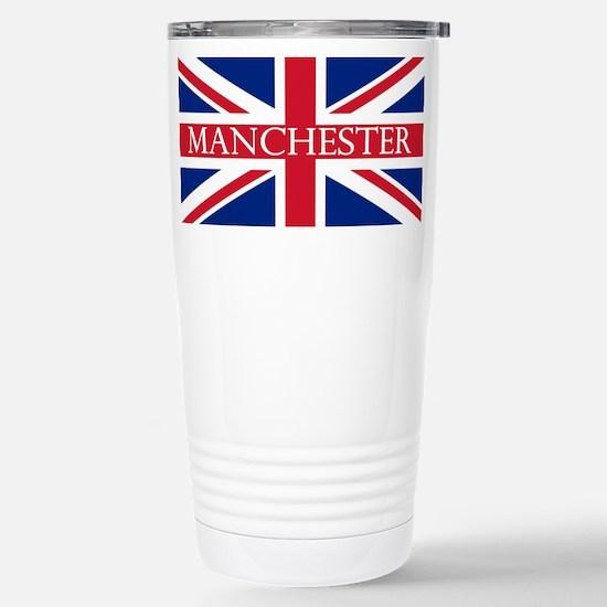 Manchester1 Stainless Steel Travel Mug