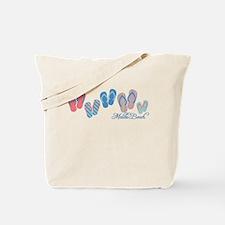 Malibu Sandal Stripe Tote Bag