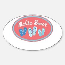 Malibu Sandal Badge Decal