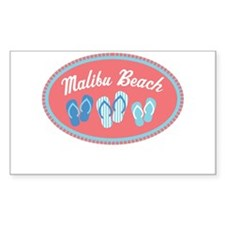 Malibu Sandal Badge Decal