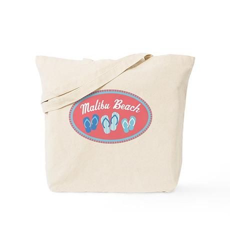Malibu Sandal Badge Tote Bag
