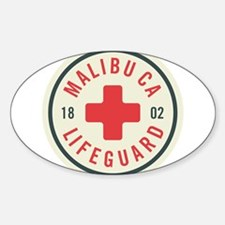 Malibu Lifeguard Badge Decal