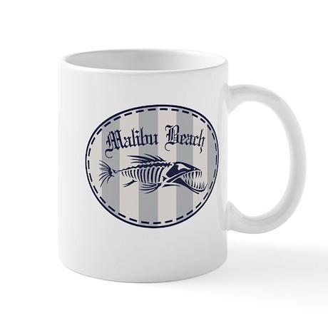 Malibu Bonefish Badge Mug