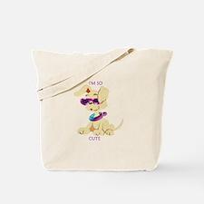 Dog So Cute Tote Bag