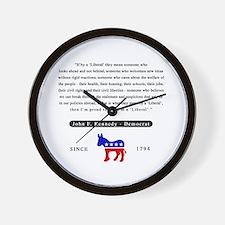 J.F.K. Wall Clock