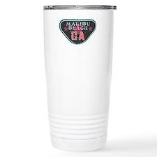 Malibu Boardwalk Badge Travel Mug
