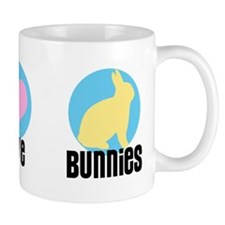 Peace Love Bunnies Mug