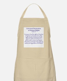 Freedom of Expression BBQ Apron