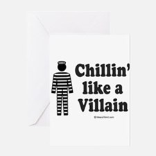 chillvill1 Greeting Cards