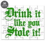 Drink it Like You Stole it Puzzle