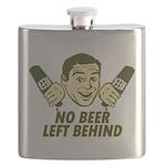 No Beer Left Behind Flask