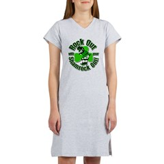 Rock Out With Your Shamrock Out Women's Nightshirt