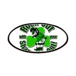 Rock Out With Your Shamrock Out Patches