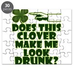 Does This Clover Make Me Look Drunk? Puzzle
