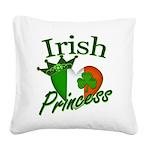IrishPrincessflag2011.png Square Canvas Pillow