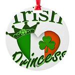 IrishPrincessflag2011.png Round Ornament