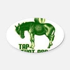 tapthatass2011.png Oval Car Magnet