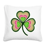 shamrock.png Square Canvas Pillow
