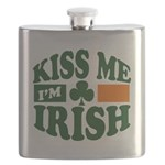 Kiss Me Im Irish.png Flask