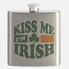 Kiss Me Im Irish.png Flask