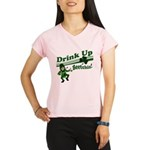 drink up beetchizWhite.png Performance Dry T-Shirt