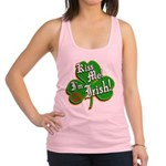 KissMeImIrish6.png Racerback Tank Top