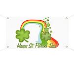 Happy St Patrick's Day Rainbo Banner