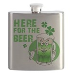 HERE FOR THE GREEN BEER DARK.png Flask