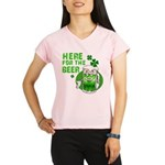 HERE FOR THE GREEN BEER DARK.png Performance Dry T