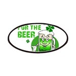 HERE FOR THE GREEN BEER DARK.png Patches
