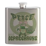 green peace love and leprechauns.png Flask