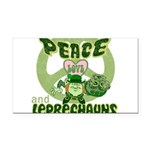 green peace love and leprechauns.png Rectangle Car