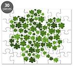 Shamrocks in a Shamrock Puzzle