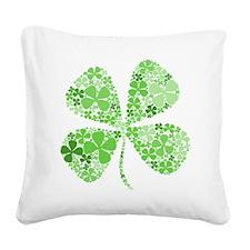 Cute Irish baby Square Canvas Pillow