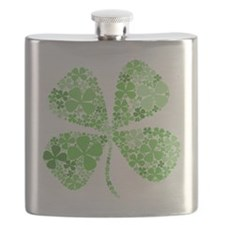 Unique Luck of the irish Flask