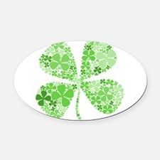 Cool Irish princess Oval Car Magnet
