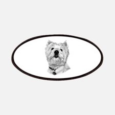West Highland White Terrier Patches