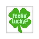 feelinlucky.png Square Sticker 3