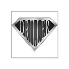 SuperDriller(metal) Rectangle Sticker
