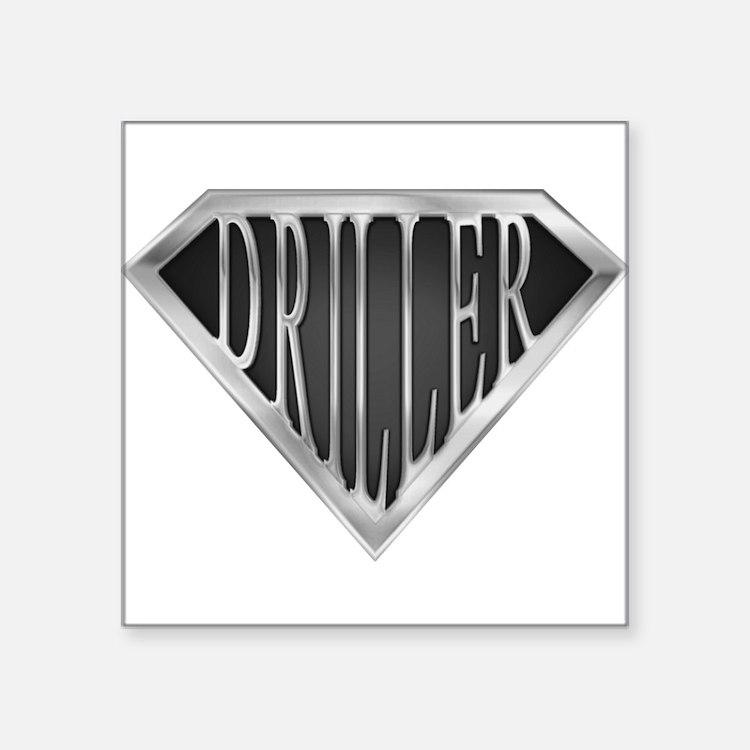 SuperDriller(metal) Rectangle Sticker