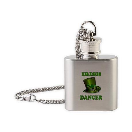 IRISH DANCER Flask Necklace