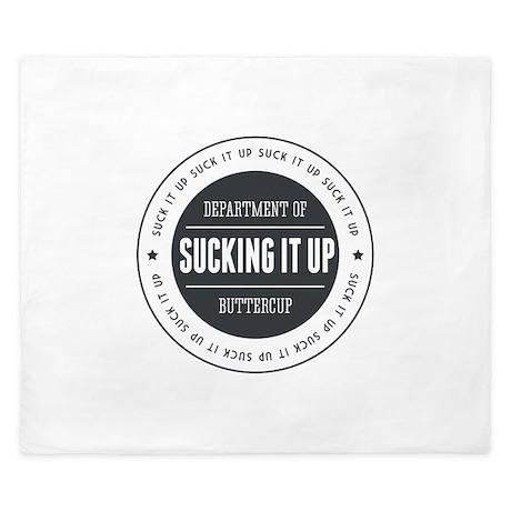 Department of Sucking it Up, Buttercup King Duvet