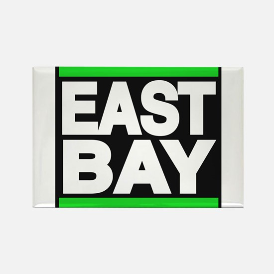 east bay green Rectangle Magnet