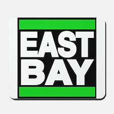 east bay green Mousepad