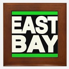 east bay green Framed Tile