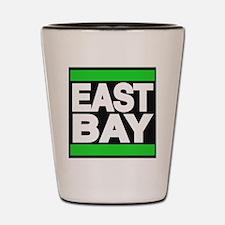 east bay green Shot Glass